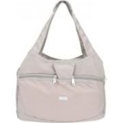 JINU Trendy Washable Waterproof Casual Party Beach Nylon Handbag for College & Office Grey Messenger Bag