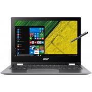 Acer Spin 1 SP111-32N-C4RC Grijs Hybride (2-in-1) 29,5 cm (11.6'') 1920 x 1080 Pixels Touchscreen 1,10 GHz Intel® Celeron® N3350