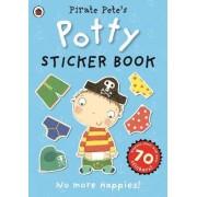 Pirate Pete's Potty sticker activity book by Ladybird