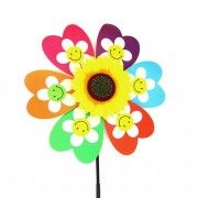 Szélforgó virág színes