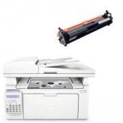Лазерно многофункционално устройство HP LaserJet Pro MFP M130fn Printer, G3Q59A + СЪВМЕСТИМА ТОНЕР КАСЕТА HP 17A BLACK LASERJET TONER CARTRIDGE 217A