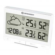 Statie meteo Bresser TemeoTrend LGX RC, termometru, higrometru, alarma, ecran digital