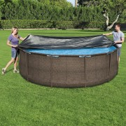 Bestway Покривало за басейн Flowclear, 366 см