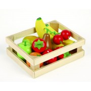 Ladita cu fructe din lemn