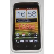 Силиконов гръб ТПУ за HTC Desire VC T328D Бял