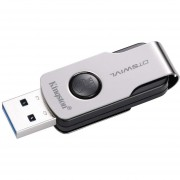 Memoria USB Kingston DataTraveler Swivl, 64GB, USB 3.0