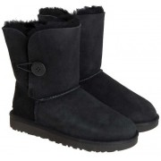 UGG Bailey Button Ii Ankle Boots Black