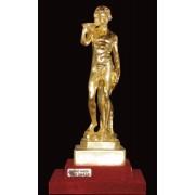 """Ръчно изработена статуетка с 22 карата златно покритие """"Дионисий"""" (A012)"""