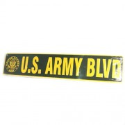 San Diego Gift U.S. Army Blvd Metal Street Signs【ゴルフ その他のアクセサリー>ホーム/オフィス】