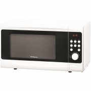 Cuptor cu microunde Hansa AMG20E70GVH, 700 W, control digital, timer, 9 programe, alb