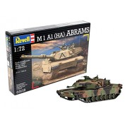 Revell Assembly Model Kit - M 1 A 1 (HA) ABRAMS 1:72 Scale