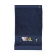 Essenza Koupací ručník, velký ručník, koupelny ručník, luxusní ručník, Essenza, tmavě modré barvy - 70x140