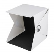 EH Portátil Mini Photo Studio Box Fotografía Telón de fondo luz incorporada Foto Box