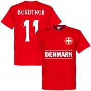 Retake Denemarken Bendtner 11 Team T-Shirt