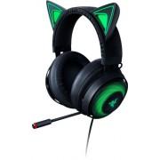 Razer - Kraken Kitty Wired Stereo Gaming Headset with RGB lighting - Black