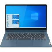 "Лаптоп Lenovo IdeaPad Flex 5 14IIL05 - 14"" FHD IPS Touch, Intel Core i5-1035G1, Light Teal"