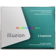 Illusion 4 db kapszula gyógynövényekkel, természetes potencianövelés Urak részére
