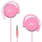 Start Auricolare Stereo Professional Headphones Jack 3,5mm Universale Pink