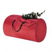 TINY TIM TOTES Bolsa de Almacenamiento de Lona para árbol de Navidad, Grande para árbol de 9 pies, 5088 Xmas Bolsa Lona Rojo, Rojo, 1