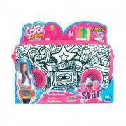 Color Me Mine Pop Star színezhető nagy oldaltáska