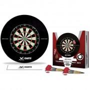 XQmax Darts Комплект за дартс, дъска и стрелички, QD7000400