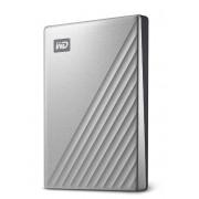 "HDD Extern Western Digital My Passport ULTRA, 2TB, 2.5"", USB 3.1 (Argintiu)"