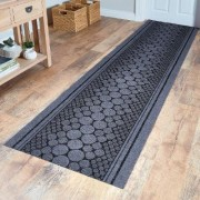 Heavy-Duty Runner Black 67 X 200cm by Coopers of Stortford