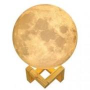 Lampa veghe moon lamp 16 culori 15 cm 5 trepte de intensitate univers 3D