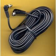 10m Male to Male SCREWLOCK pc Sync Sincro Lead Cord