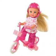Mini bambola in bicicletta steffi love 5731715 evi my first bike mini bambole in modelli assortiti (no scelta)