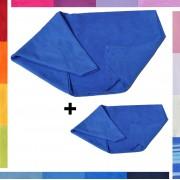 Asciugamani in microfibra, salviette SPORT E VIAGGIO