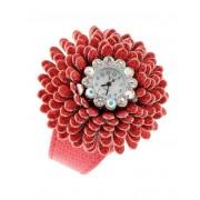 Sparkling Blossom Röd Klocka