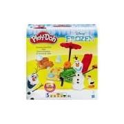 Conjunto Play-Doh Frozen Verão do Olaf - Hasbro