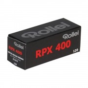 Rollei RPX 400 - film pancromatic 120