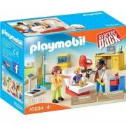 Playmobil Starter Pack - Pediatra Con Mama Y Niño - 70034