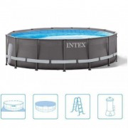 Bazen Intex 427x107 cm set ultra frame