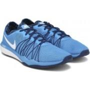 Nike W DUAL FUSION TR Training Shoes For Women(Blue)