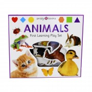 Priddy Books First Learning Animals Play Set - Ages 0-5 - Board Book - Priddy Books