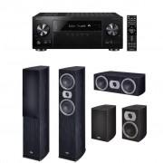 Pachet Receiver AV Pioneer VSX-831 + Boxe Heco Victa Prime 502 + Boxe Heco Victa Prime 302 + Boxa Heco Victa Prime Center 102