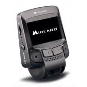 """Camera auto DVR Midland Street Guardian Flat, Full HD, LCD 2.4"""", 12MP, Wi-Fi, G-senzor (Negru)"""