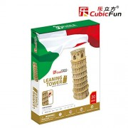 Lelifang Kids Toys Mc053H Italy Leaning Tower Of Pisa Hardcover 3D Three-Dimensional Puzzle