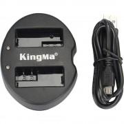 Incarcator KingMa USB dual EN-EL15 replace Nikon D7000 D7100 D7200 D800 D800E D810 D600 D610 1 V1