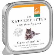 Pate Bio de gasca pentru pisici sensibile, 100g, Defu