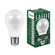 Лампа светодиодная Saffit SBA6525 A65 25W E27 2700K 55087
