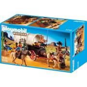 Playmobil 5248 - Chariot Avec Cow-Boys Et Bandits