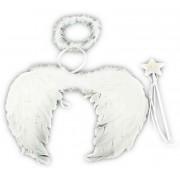 Anjelské krídla + svätožiara a palička