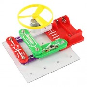 Basic Electronics Discovery Circuit Kit Fcoson Snap Circuits Educational Science Toy for Kids 5 and up