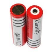 Panasonic UltraFire 2x 18650 battery (3000 mAh, Rechargeable)
