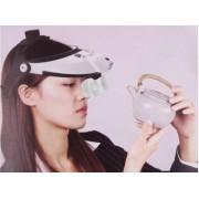 Cozoroc cu lentile lupa si lumina LED Magnifier MG8001H
