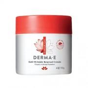 DERMA-E DERMA E Crema renovadora antiarrugas con vitamina A retinilo palmitato, disminuye la apariencia de líneas de edad y arrugas